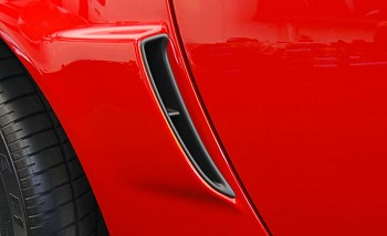 C6 Corvette 2005-2013 Z06/Grand Sport/ZR1 Brake Duct Scoop Insert - Pair