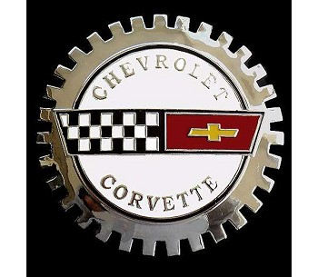 C4 Corvette 1984-1996 Vintage Owners Grille Badge