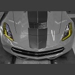 C7 Corvette Stingray/Z06 2014+ Amber Headlight Kit - 2Pc