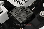 C6 Corvette 2005-2013 Hydro Carbon Fiber Alternator Cover - Perforated