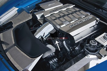 C7 Corvette Stingray 2014+ Hydro Carbon Fiber Throttle Body Actuator Cover