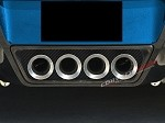 C7 Corvette Stingray/Z06 2014+ Hydro Carbon Fiber Exhaust Filler Panel