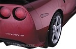 C6 Corvette 2005-2013 Hydro Carbon Fiber Molded Splash Guard Set