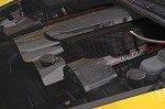 C6 Corvette 2005-2007 LS2 Hydro Carbon Fiber Fuel Rail Covers - Perforated