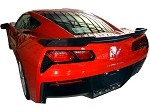 C7 Corvette Stingray 2014+ Carbon Fiber / Fiberglass GTX Rear Spoiler