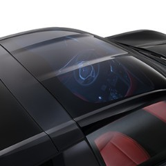 C7 Corvette Stingray 2014+ Transparent Roof Panel