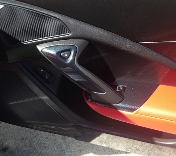 C7 Corvette Stingray/Z06 2014+ Custom Painted Passenger Side Door Bezel
