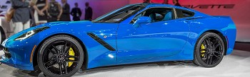 C7 Corvette Stingray 2014+ Custom Painted A-Pillar Panels