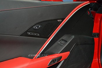 C7 Corvette Stingray/Z06 2014+ Hydro Carbon Fiber Drivers Side Door Panel Insert