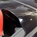 C7 Corvette Stingray 2014+ Hydro Carbon Fiber Convertible Accent Trim Panels - Pair
