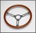 C3 Corvette 1968-1982 Steering Wheel - Walnut
