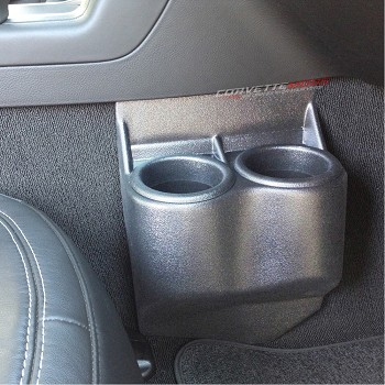 C7 Corvette Stingray/Z06 2014+ Custom Painted Cup Holder Travel Buddy - Dual
