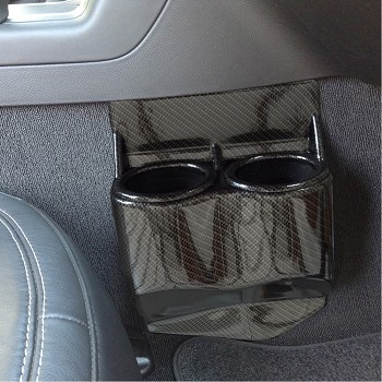 C7 Corvette Stingray 2014+ Hydrocarbon Carbon Fiber Cup Holder Travel Buddy - Dual
