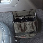 C7 Corvette Stingray/Z06 2014+ Hydro Carbon Fiber Cup Holder Travel Buddy - Dual