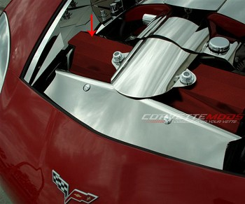 C6 Corvette Base/Z06/GS 2005-2013 Custom Painted Radiator Cover - 2Pc