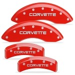 C4 Corvette 1984-1996 Brake Caliper Covers - 4 Pc