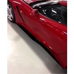 C7 Corvette Stingray 2014+ Custom Painted / Hydro Carbon Z06 Style Side Skirts ZR7