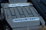 C7 Corvette Stingray 2014+ Fuel Rail Insert Brushed/Polished Corvette Lettering