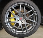 C7 Corvette Stingray 2014+ GT2 Wheels Set 18x9 / 19x10.5