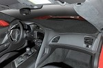 C7 Corvette 2014+ Black Custom Fit Interior Dash Mat