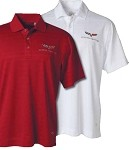 C6 Corvette 2005-2013 Men's Callaway Performance Polo - Red / White