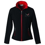 C7 Corvette Stingray 2014+ Ladies Matrix Soft Shell Jacket