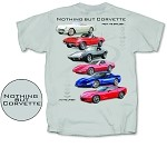 C3 C4 C5 C6 Universal Corvette Nothing But Corvette T Shirt