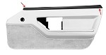 C4 Corvette 1984-1989 Door Panel Upper Trim - Coupe / Convertible