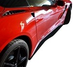 C7 Corvette Stingray 2014+ GTX Side Skirt Set - Carbon Fiber