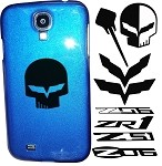 C6 C7 Corvette Stingray/Z06 2005-2014+ Custom Painted Samsung Phone Cases - Acrylic Decals
