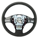 Corvette C6 Carbon Edition Suede/Leather Steering Wheel- 2 Stitching Color Choices