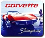 C3 C4 C5 C6 Corvette 1968-2013 Mouse Pads - Multiple Styles