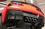 C7 Corvette Stingray 2014+ Custom Painted GM Rear Valance Vents - Pair