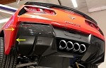C7 Corvette Stingray/Z06 2014+ Custom Painted GM Rear Valance Vents - Pair