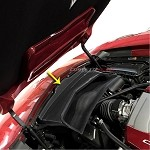 C7 Corvette Stingray 2014+ Hydro Carbon Fiber Air Intake Cover Replacement