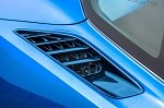 C7 Corvette Stingray 2014+ Custom Painted GM Rear Quarter Vents - Pair