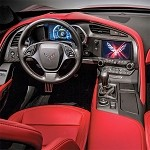 C7 Corvette Stingray/Z06 2014+ Real Carbon Fiber Interior Dash Replacement