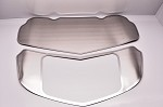 C7 Corvette Stingray/Z51/Z06 2014+ Brushed Solid Hood Panel Kit - 2 Pieces