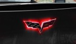C6 Corvette 2005-2013 LED Front / Rear Emblem Lighting Effects