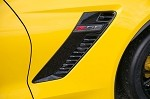 C7 Corvette Z06 2015+ Side Fender Duct Vents - Pair