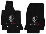 C7 Corvette Stingray/Z06 2014+ Lloyd Ultimat Jake Skull / C7R Floor Mats