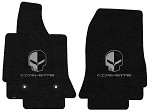 C7 Corvette Stingray/Z06 2014+ Lloyd Ultimat Jake Skull / Corvette Script Floor Mats