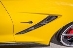C7 Corvette Stingray 2014+ True Carbon Fiber Fender Vents