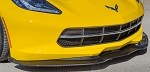 C7 Corvette Stingray 2014+ True Carbon Fiber Front Chin Splitter