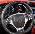 C7 Corvette Stingray/Z06 2014+ GM Z06 Style Flat Bottom Steering Wheels