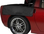 C6 Corvette Fender Covers Rear Pair