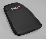 C5 Corvette 1997-2004 50th Anniversary Console Lid Assembly - Leather Accent Stitched