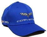 C6 Corvette 2005-2013 Sports Performance Mesh Elite Structured Cap - Black / Red / Blue