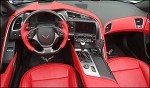C7 Corvette Stingray/Z06 2014+ Real Carbon Fiber D Shape Steering Wheel