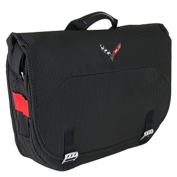 Corvette C7 2014 Stingray Briefcase/Messenger Bag with Logo